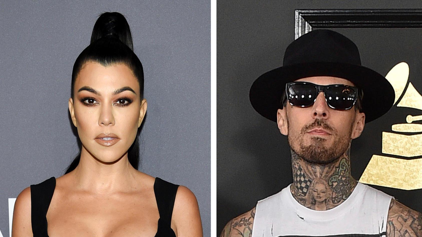Kourtney Kardashian und Travis Barker; sind sie verlobt?