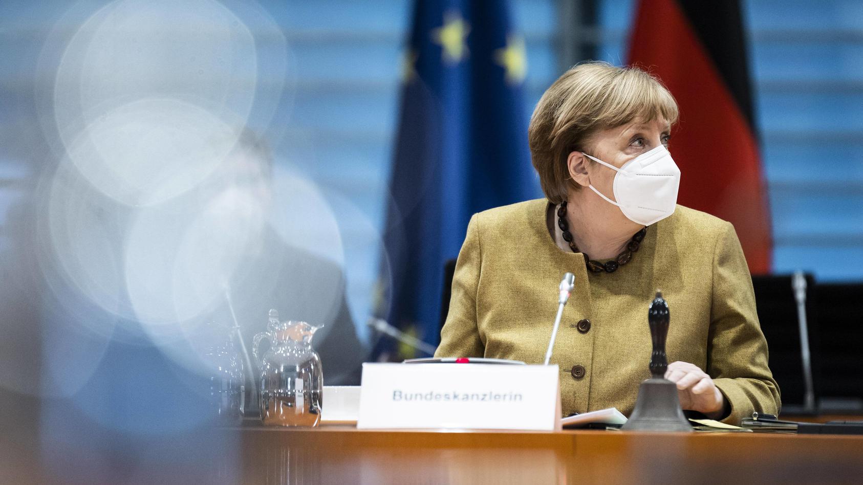 Angela Merkel, Bundeskanzlerin.