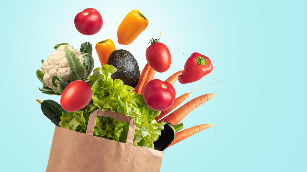 Frisches Gemüse ist die Grundlage der Regenbogen-Diät.
