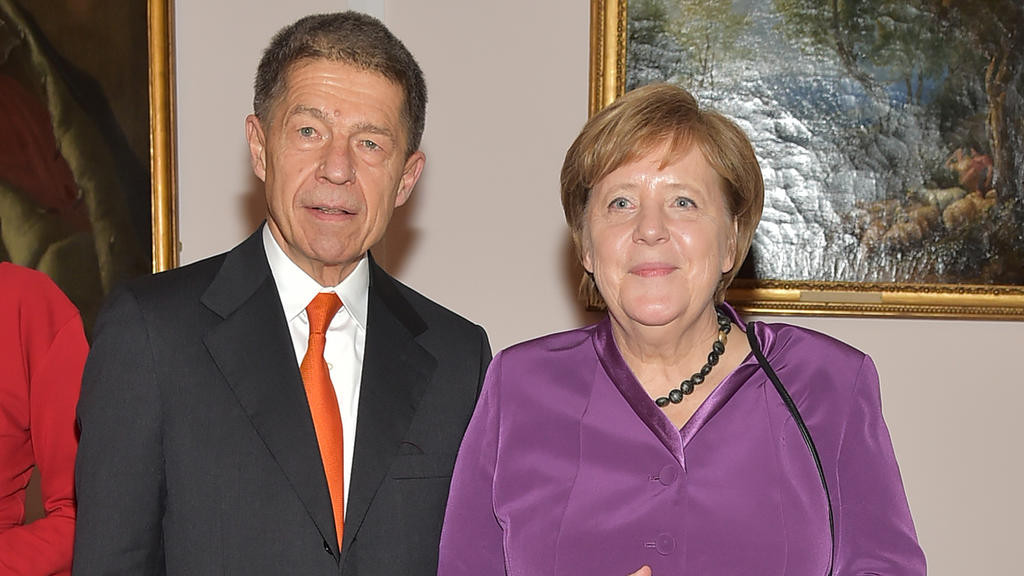 Joachim Sauer begleitet seine Ehefrau und Bundeskanzlerin Angela Merkel nur selten bei öffentlichen Auftritten.