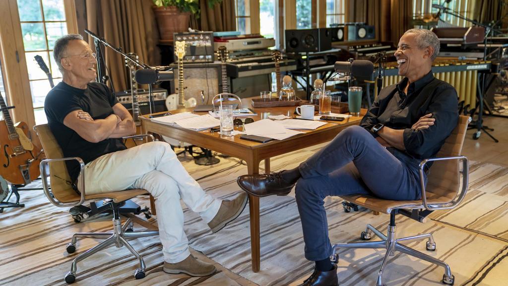Bruce Springsteen und Barack Obama machen einen gemeinsamen Podcast.