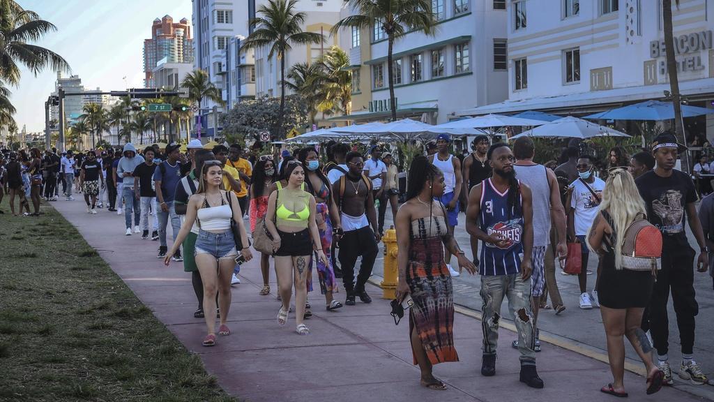 Miami Beach verlängerte jetzt den Notstand bis 30. März.