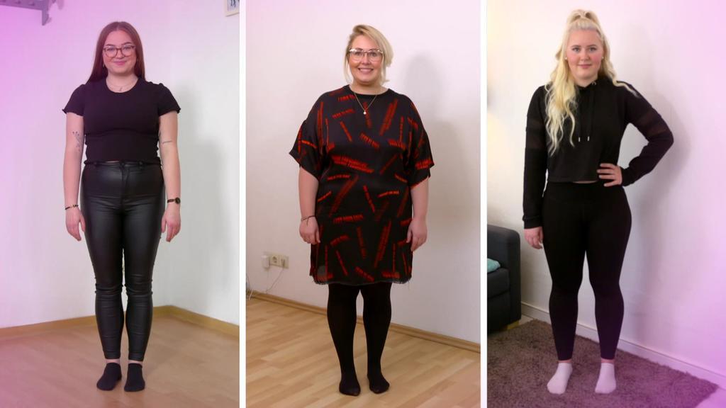 Diät-Test: Drei Kandidatinnen