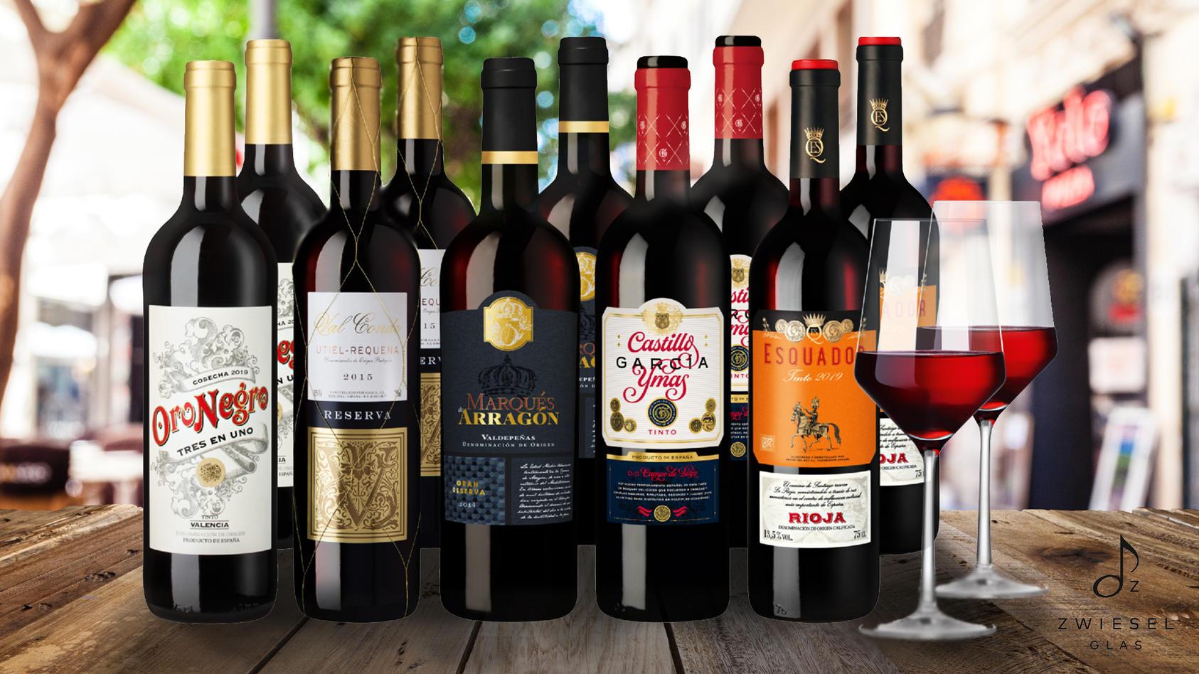 Wein-Angebot: Online gibt es diese prämierten Rotweine mit exklusivem Rabatt