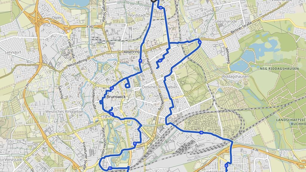 Osterhase GPS-Drawing