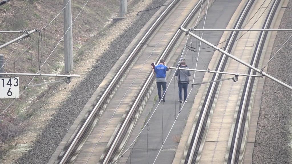 52-Jähriger hat Schrauben von ICE-Strecke gelöst.