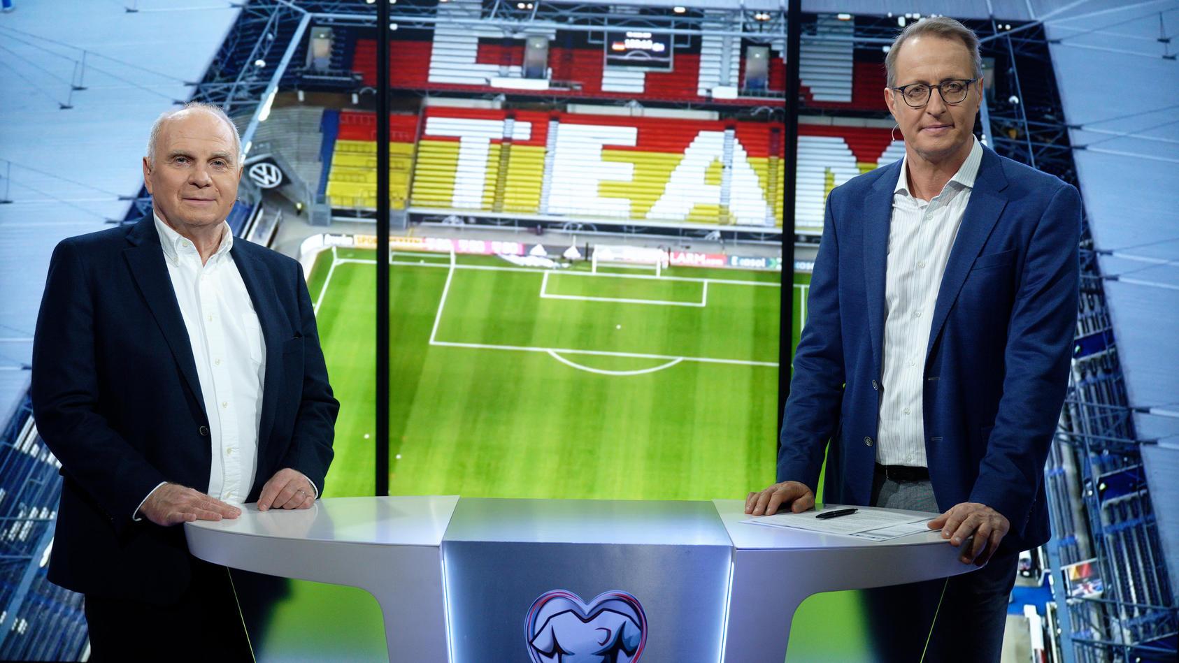 Hoeneß überzeugte als Fußballexperte bei RTL.