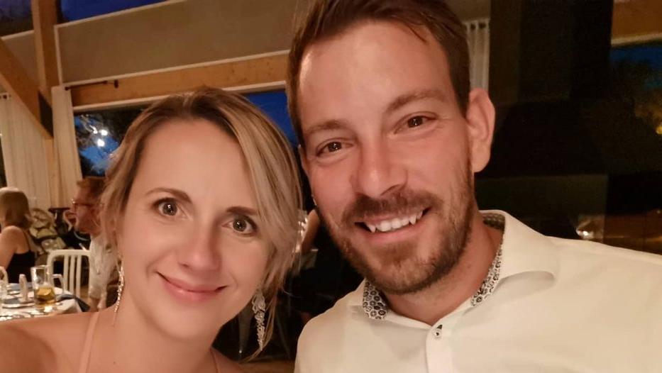 Anna und Gerald Heiser sind im Januar zum ersten Mal Eltern geworden.