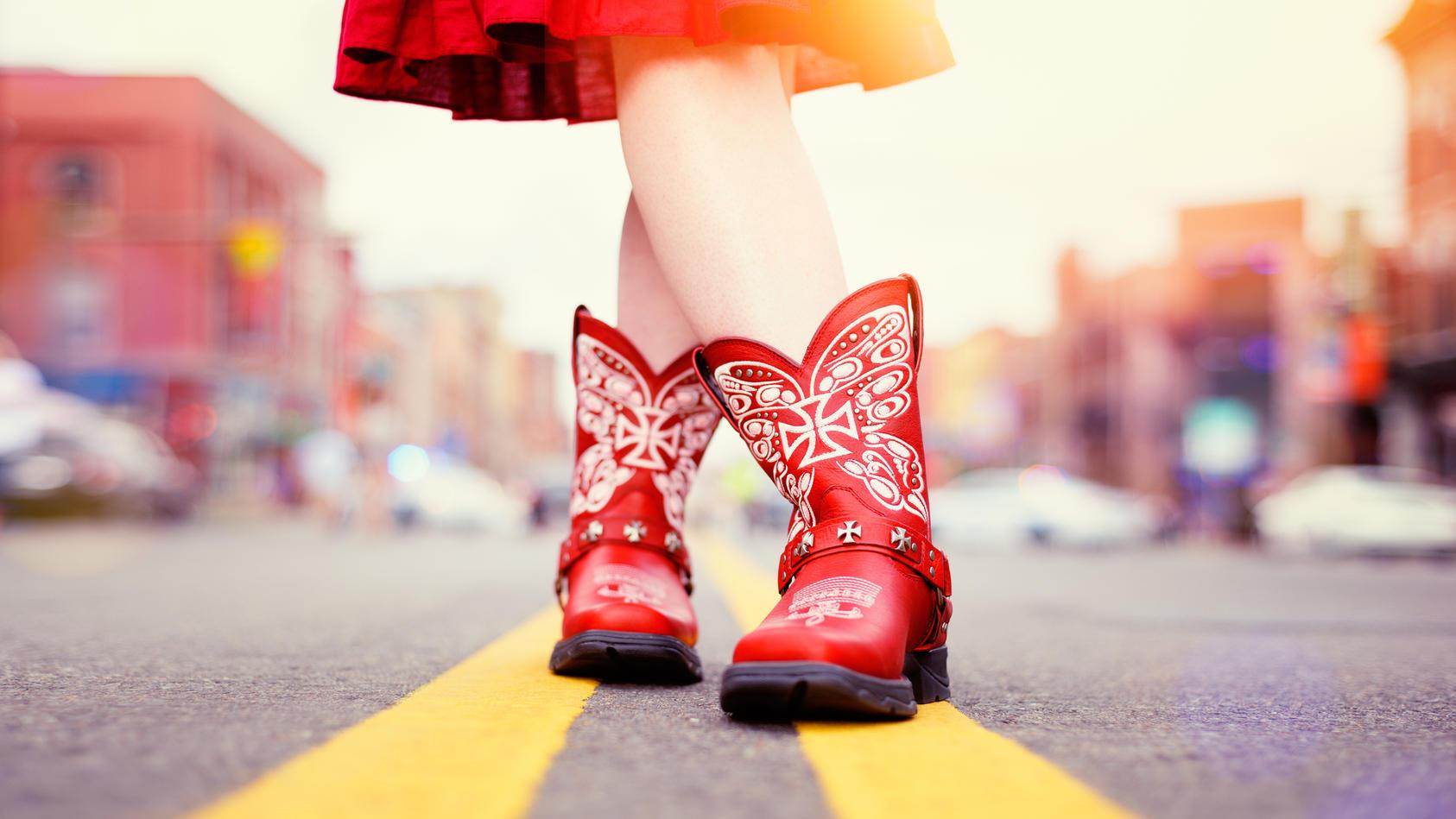 Das ist der Trendstiefel im Frühling 2021: So tragen wir Cowboy-Boots.