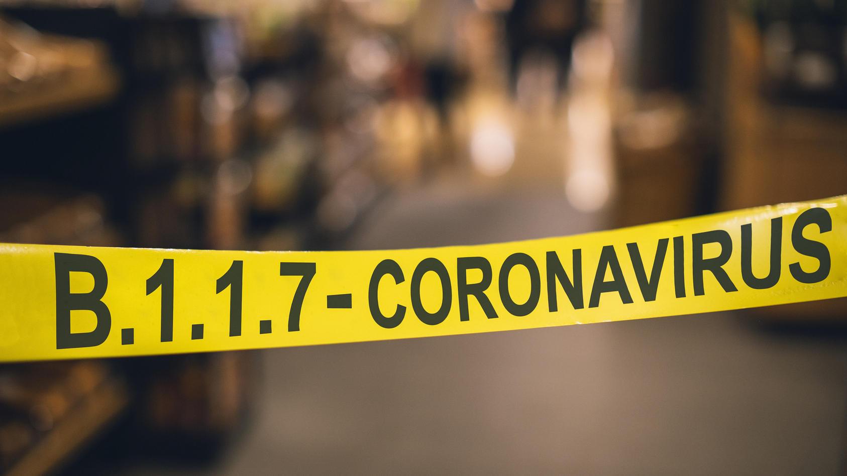Aktuell liegt der Anteil der britischen Corona-Variante B.1.1.7 in Deutschland bei fast 90 Prozent.