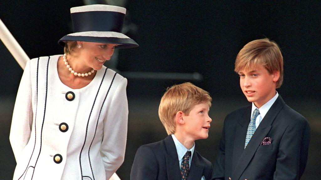 Prinzessin Diana hinterließ ihre zwei Söhne: Prinz Harry und Prinz William.