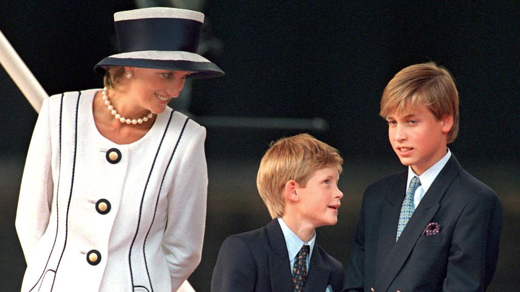 Prinzessin Diana wäre am 1., Juli 2021 60 geworden. Ihre Söhne Harry und William sind zurzeit zerstritten.