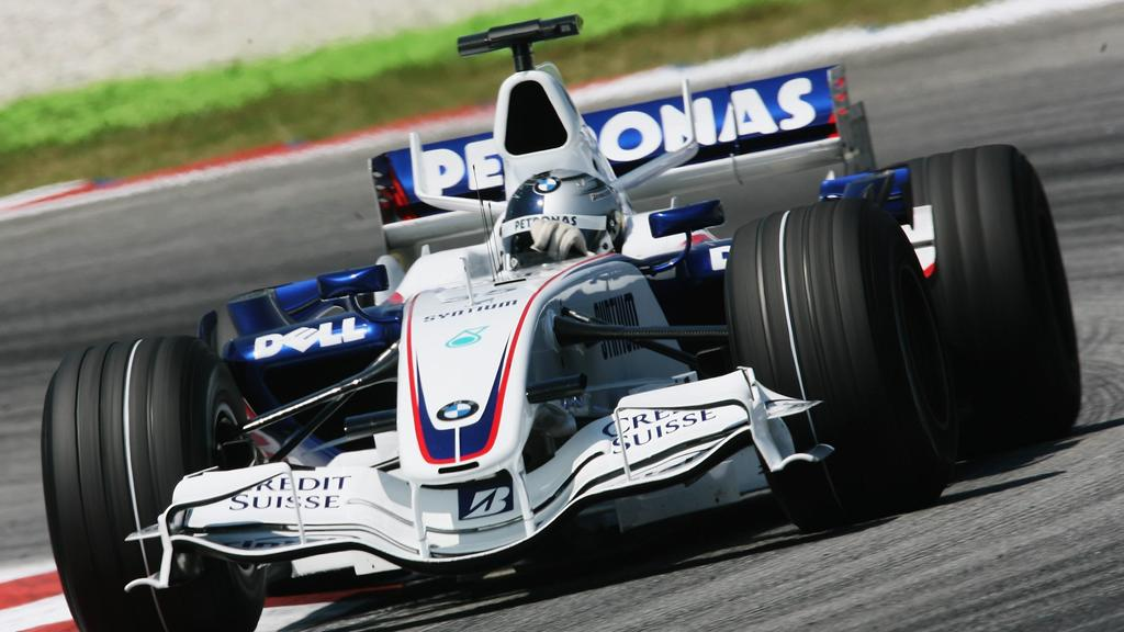 KUALA LUMPUR, MALAYSIA - APRIL 05:  Sebastian Vettel of Germany and BMW Sauber competes during the practice for the Malaysian Formula One Grand Prix at the Sepang Circuit on April 6, 2007, in Kuala Lumpur, Malaysia.  (Photo by Lars Baron/Bongarts/Get