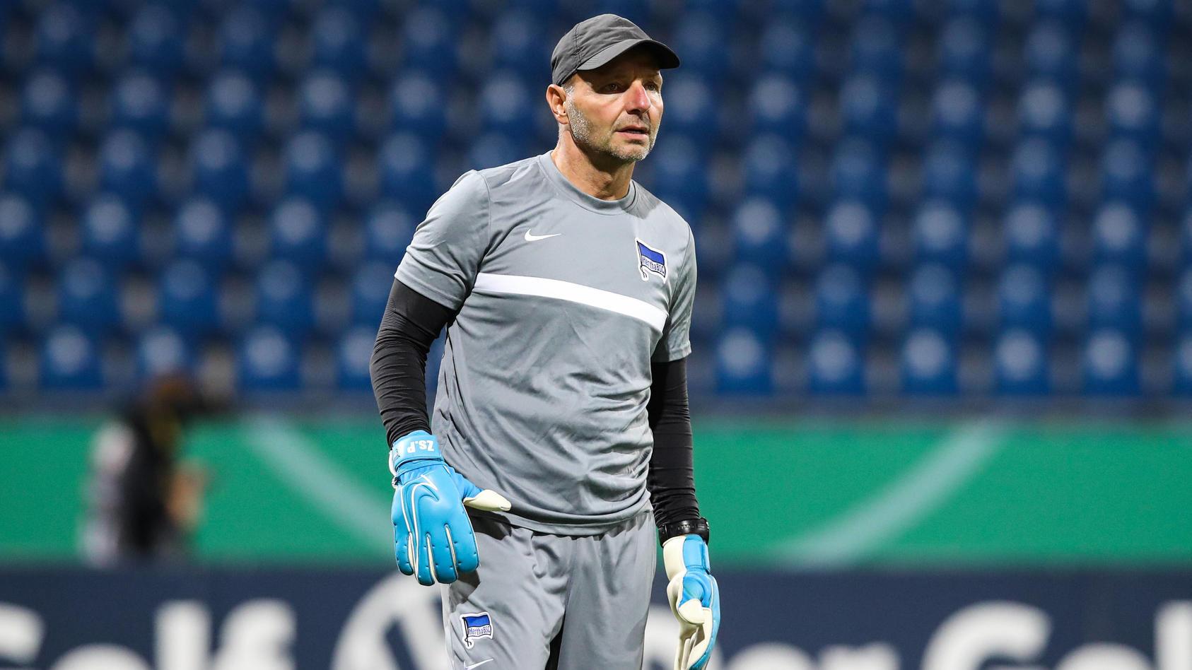 Herthas Torwarttrainer Zsolt Petry