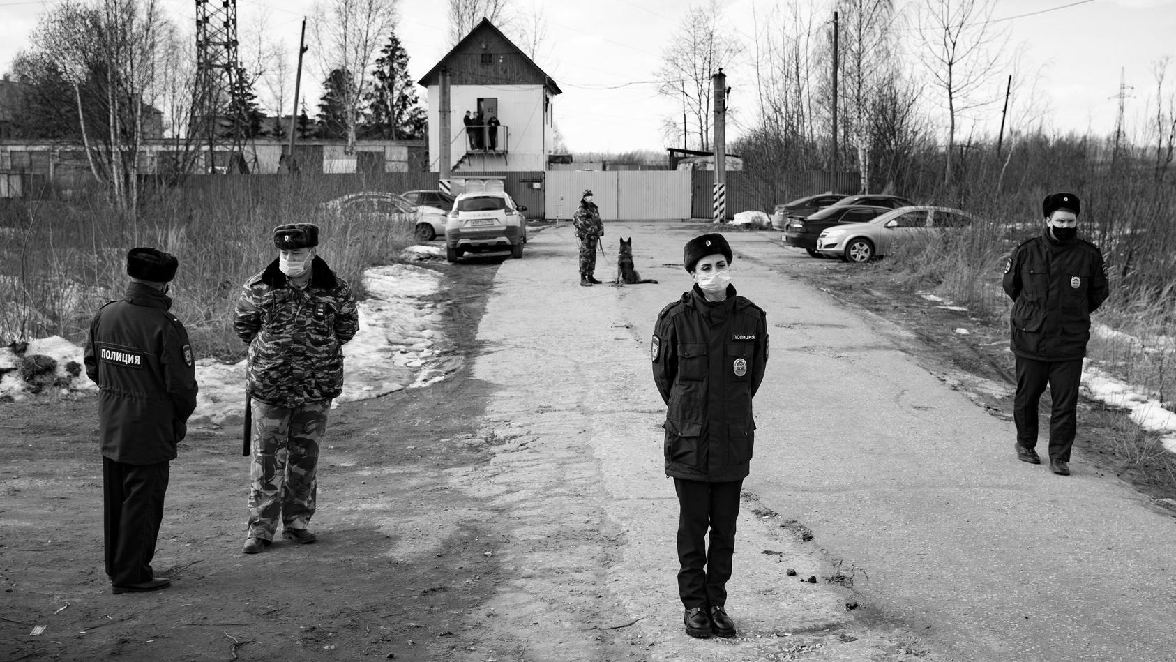Straflager 2 in Pokrow (Russland), von hier aus hatte Nawalnys Frau gepostet.