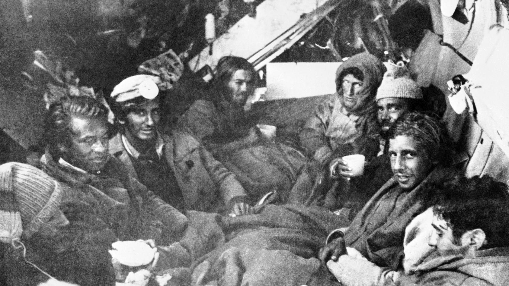 Die Überlebenden des Flugzeugabsturzes 1972 mussten Menschenfleisch essen, um zu überleben.