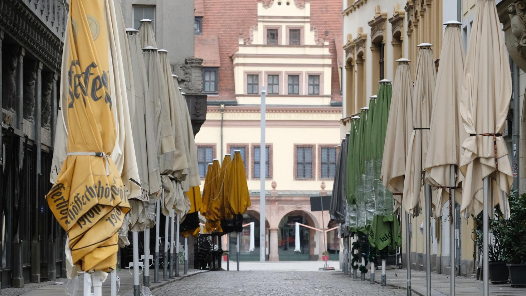 Seit Mittwoch dürfen dieLeute in Leipzig nur noch mit einem triftigen Grund vor die Tür. Aber davon gibt es viele.