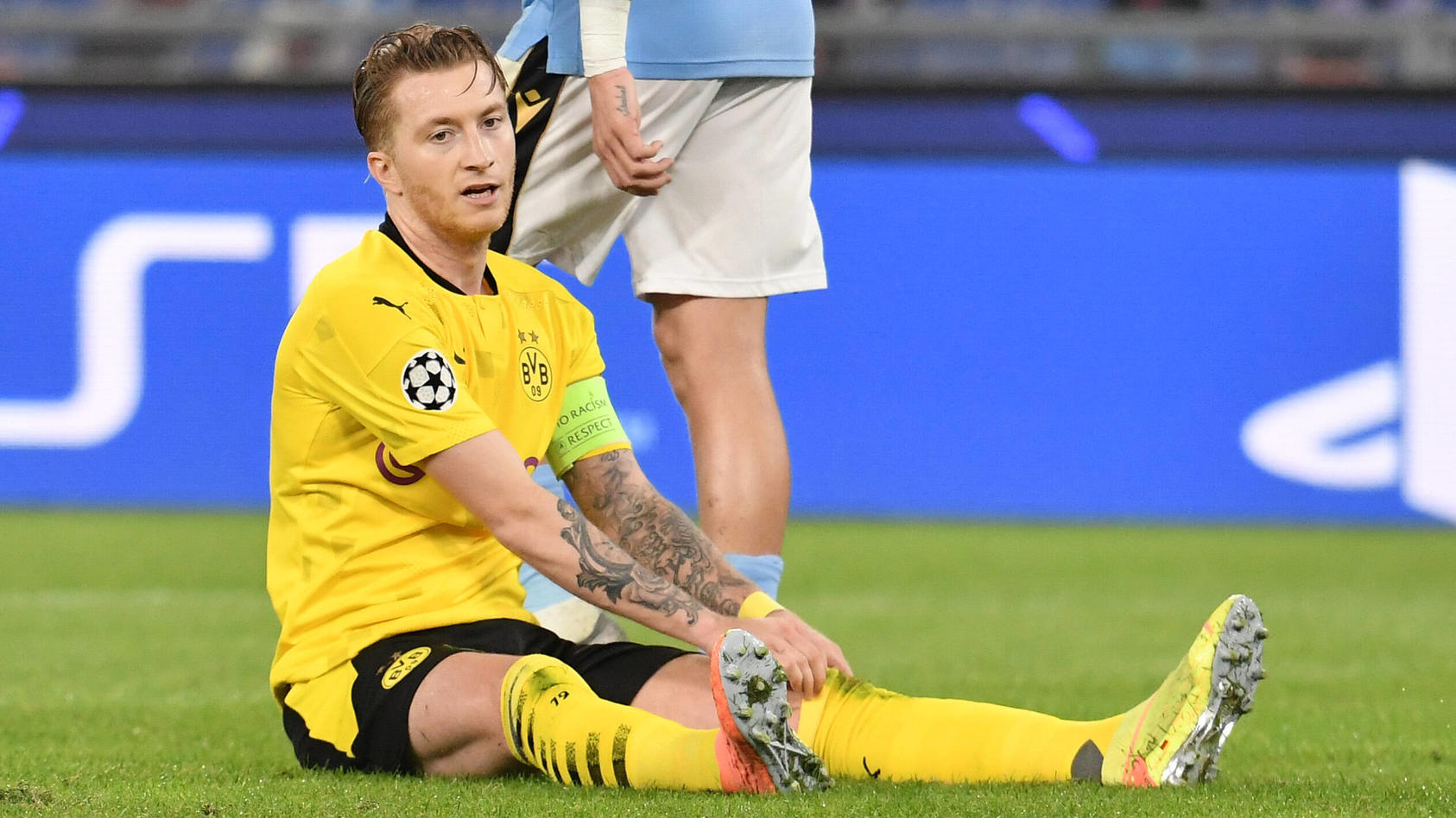 Marco Reus of Dortmund during the Champions League Group Stage F day 1 football match between SS Lazio and Borussia Dor