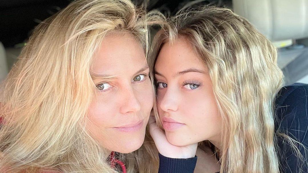 Heidi Klum mit ihrer Tochter Leni, die immer mehr in ihre Fußstapfen tritt