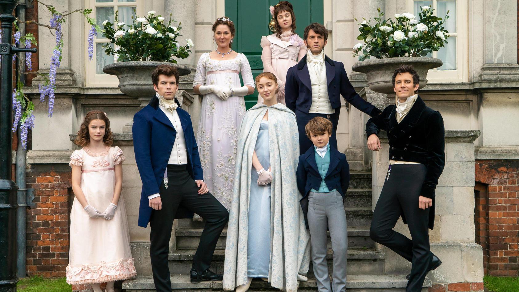 "Netflix-Serie ""Bridgerton"" wird fortgesetzt."