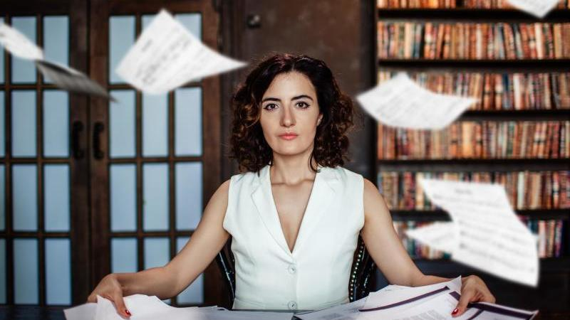Die russische Schriftstellerin Alissa Ganijewa. Foto: Molly Tallant/Alissa Ganijewa/dpa