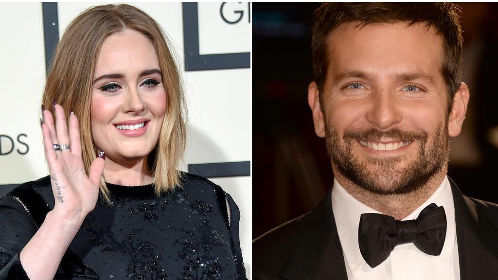 Angeblich bahnt sich zwischen Adele und Bradley Cooper was an