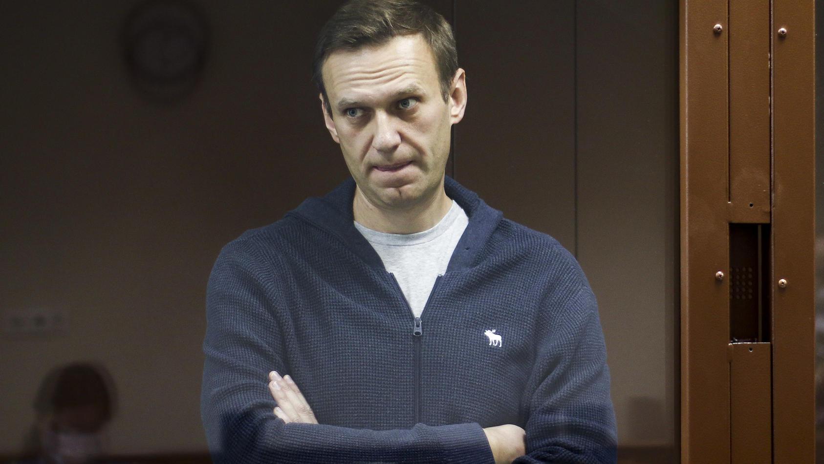 Kremlkritiker Nawalny befindet sich aktuell in einem russischen Straflager.