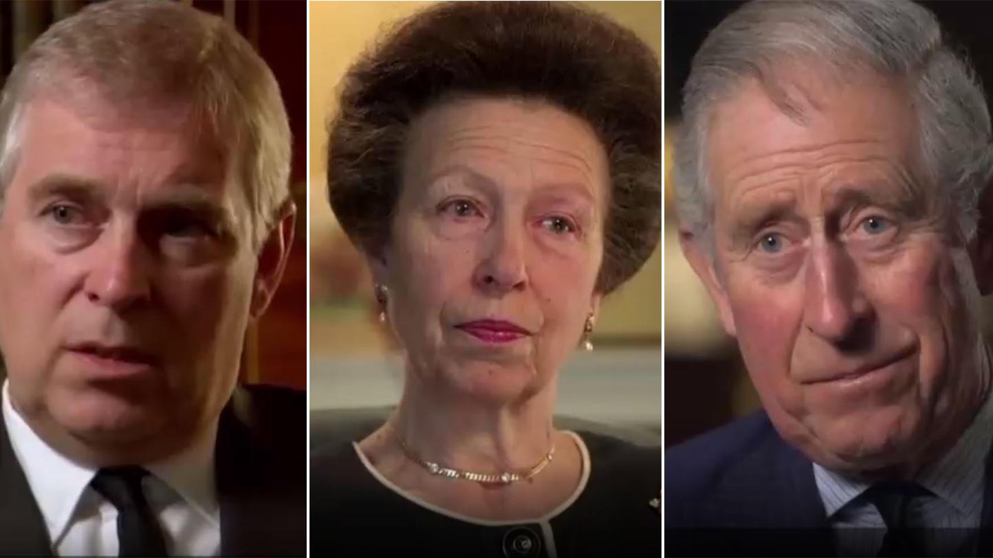 Prinz Andrew, Prinzessin Anne und Prinz Charles im Interview über ihren Vater Prinz Philip. Auch der vierte im Bunde, Prinz Andrew, hat sich nach dem Tod seines Vaters geäußert.