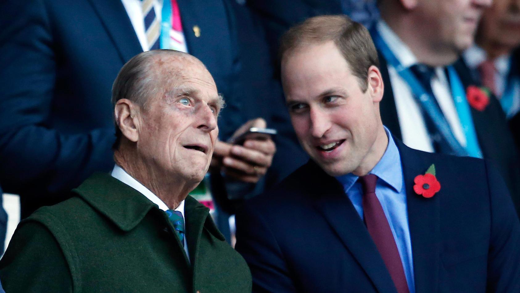 Prinz William nimmt mit emotionalen Worten Abschied von seinem Großvater Prinz Philip, dem Herzog von Edinburgh.