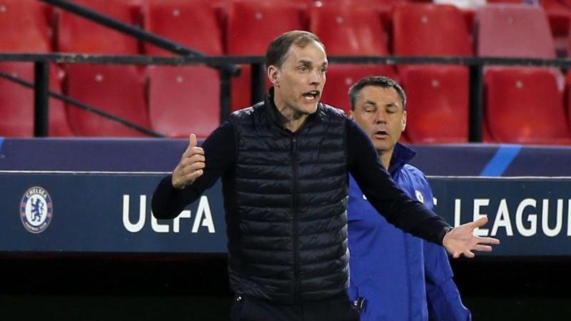 Hat den FC Chelsea erstmals seit 2014 wieder ins Halbfinale der Champions League geführt: Thomas Tuchel gestikuliert an der Seitenlinie. Foto: Isabel Infantes/PA Wire/dpa