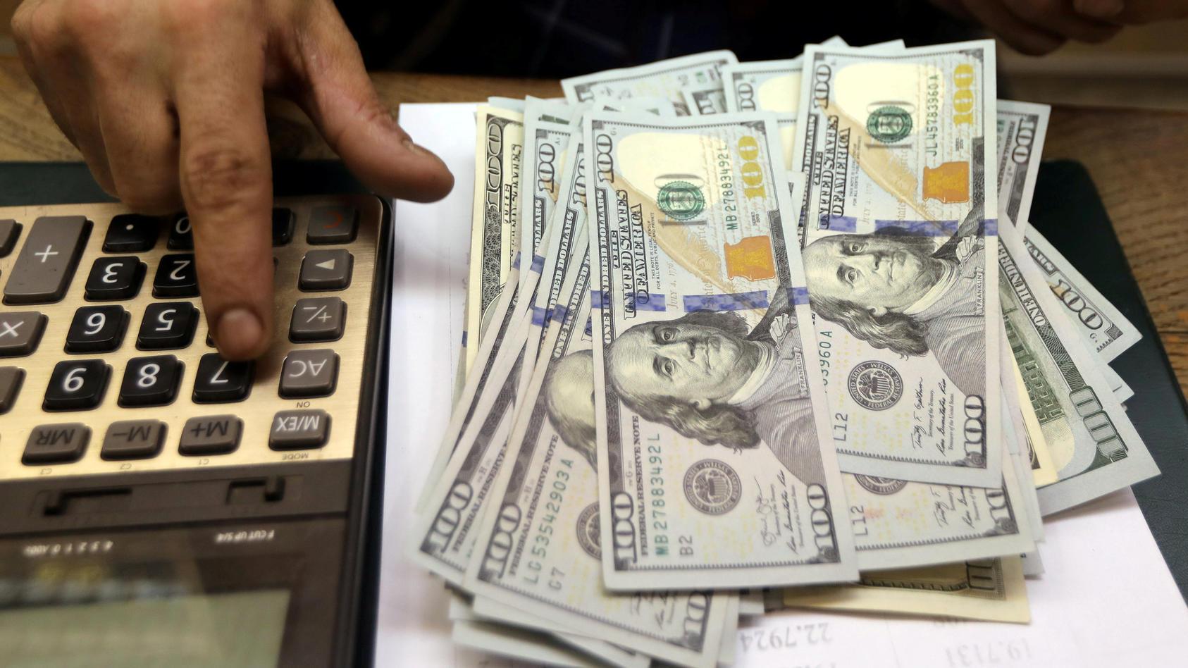 Eine Bank hat einer Amerikanerin versehentlich mehr als eine Million Dollar überwiesen. (Symbolbild)