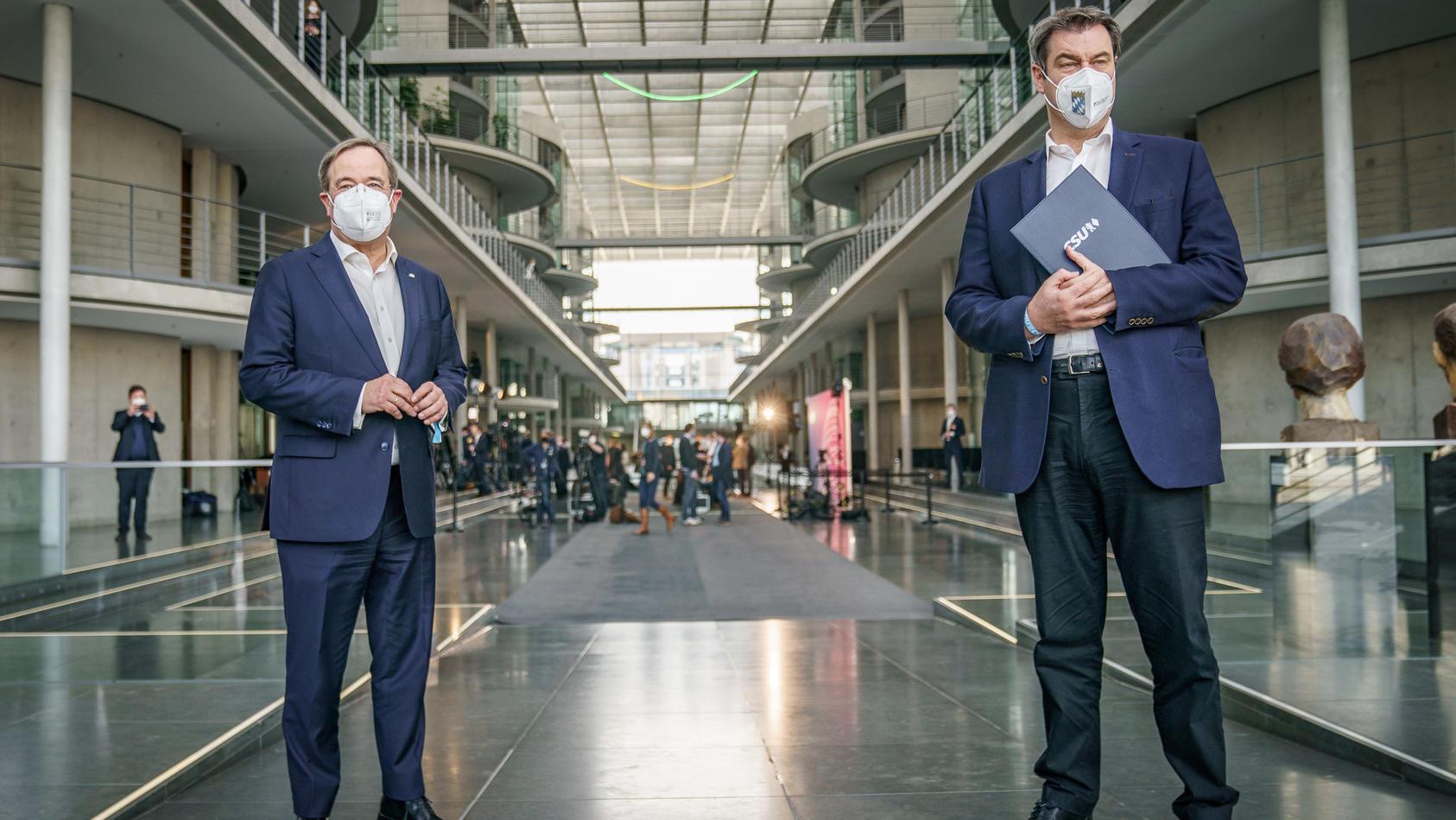 Armin Laschet und Markus Söder: Die Union sucht ihren Kanzlerkandidaten