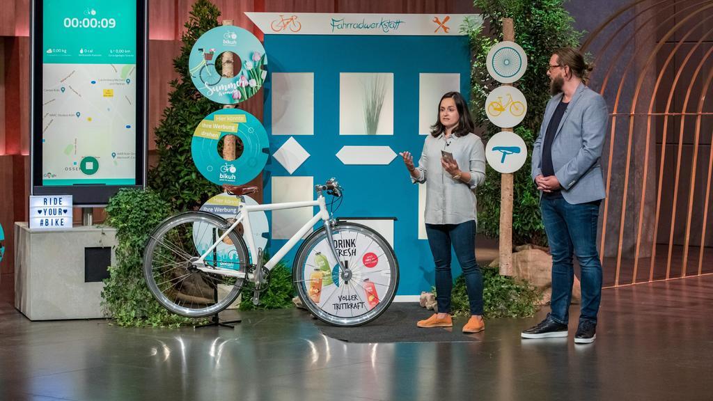 bikuh: Das Fahrrad als Werbefläche