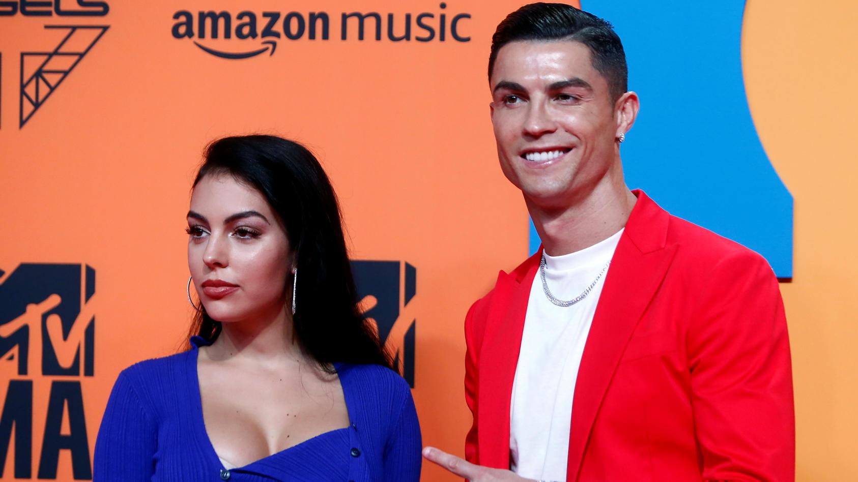 Georgina Rodriguez und Cristiano Ronaldo sind seit 2017 ein Paar