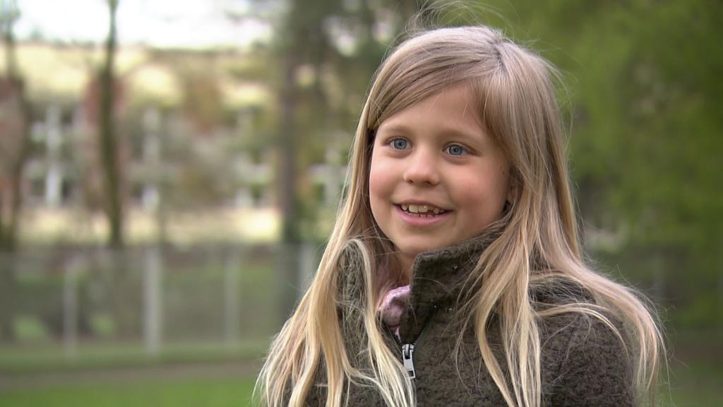 8-jährige Antonia Hiller