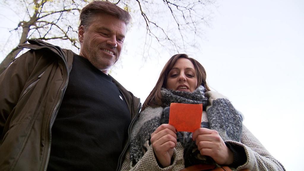 Carmela Marcone und ihr Lebensgefährte Oliver Wolter aus Köln-Zollstock