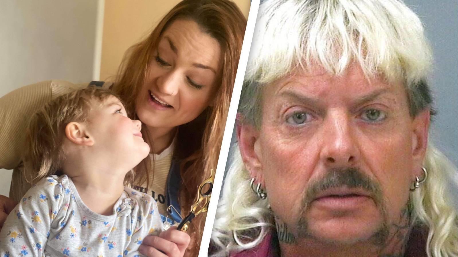 Die kleine Mylee Howard sieht nach einem selbstgemachten Haarschnitt aus wie Joe Exotic.