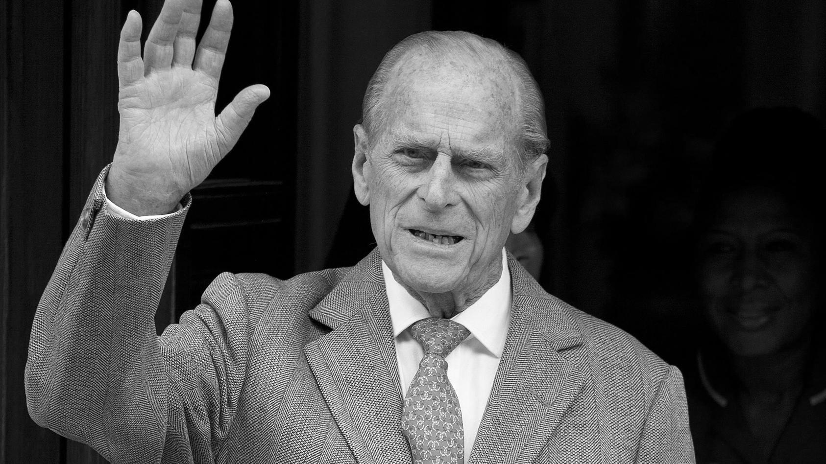 Die royale Familie hat am 17. April Abschied von Prinz Philip genommen
