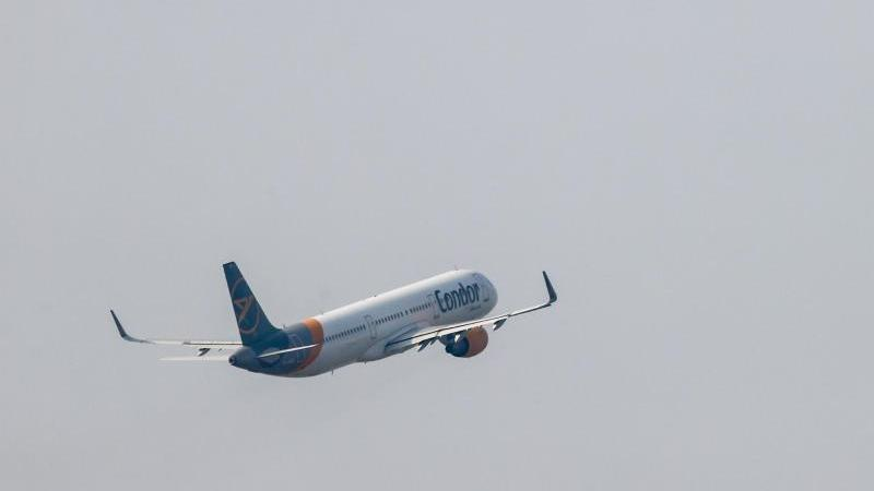 Ein Flugzeug fliegt. Foto: Jan Woitas/dpa-Zentralbild/dpa