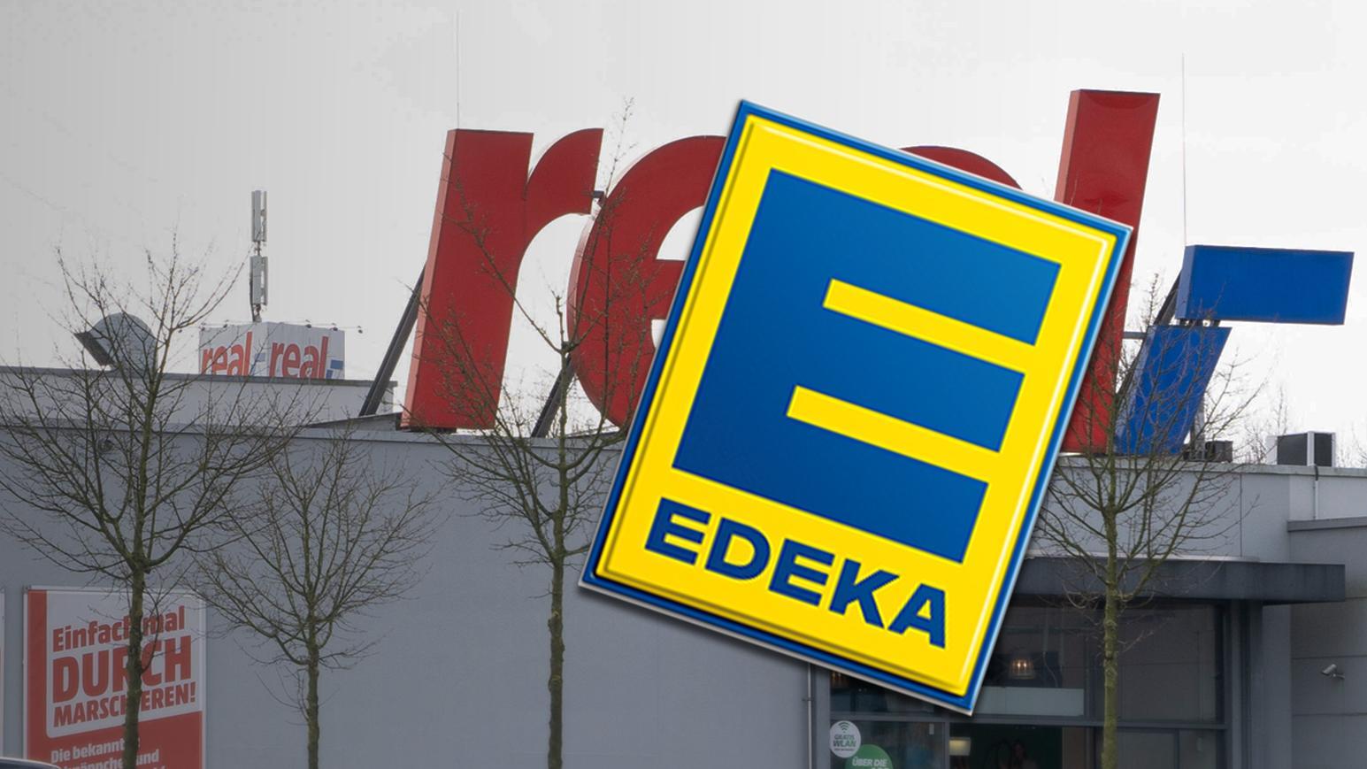 Weitere Übernahmetermine von Real-Standorten durch Edeka stehen fest.