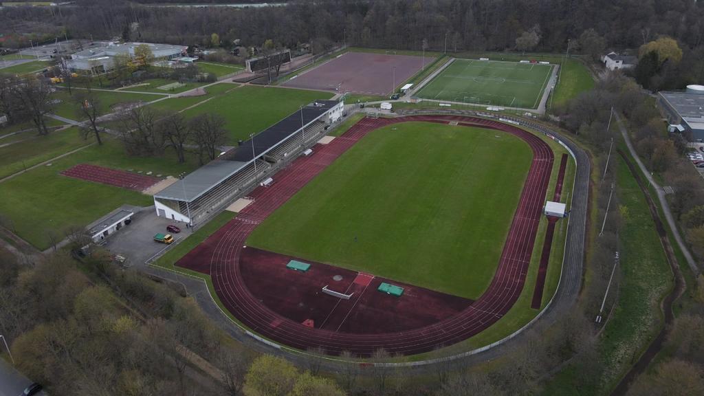 """Stadion """"Große Wiese"""" in Arnsberg"""