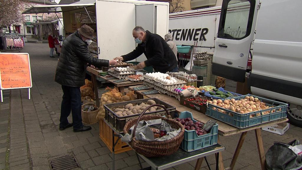Wochenmarkt in Arnsberg