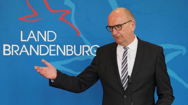 Dietmar Woidke (SPD), Ministerpräsident von Brandenburg. Foto: Soeren Stache/dpa-Zentralbild/dpa/Archivbild