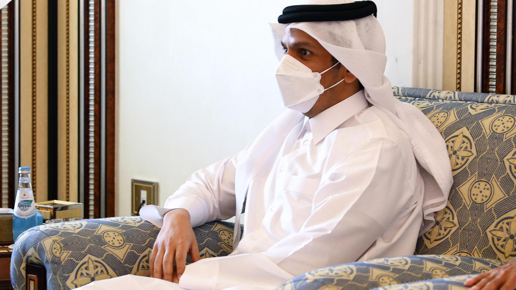 Katars Außenminister Scheich Mohammed bin Abdulrahman Al-Thani