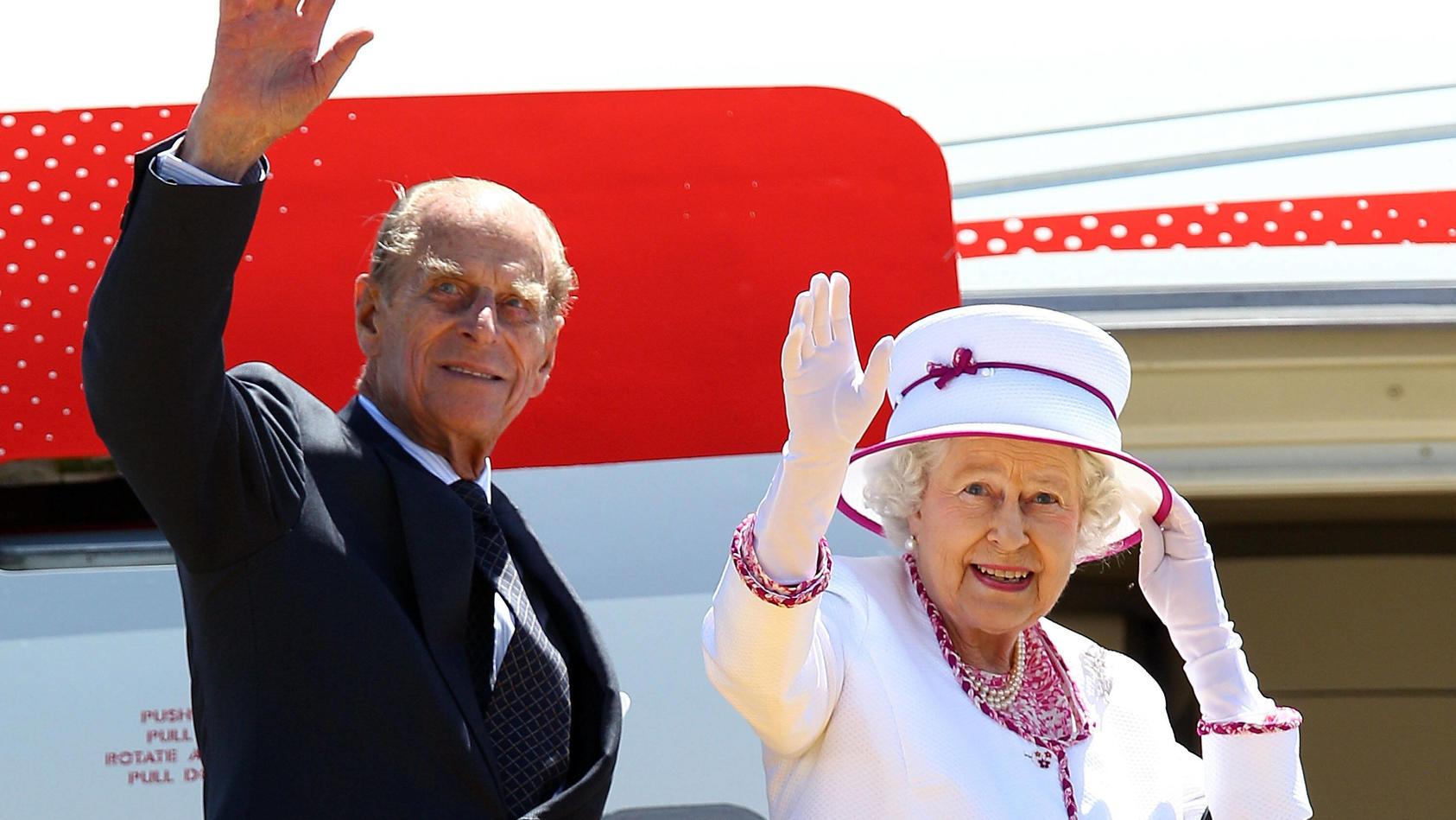 Die Queen muss sich von ihrem Liebsten verabschieden.