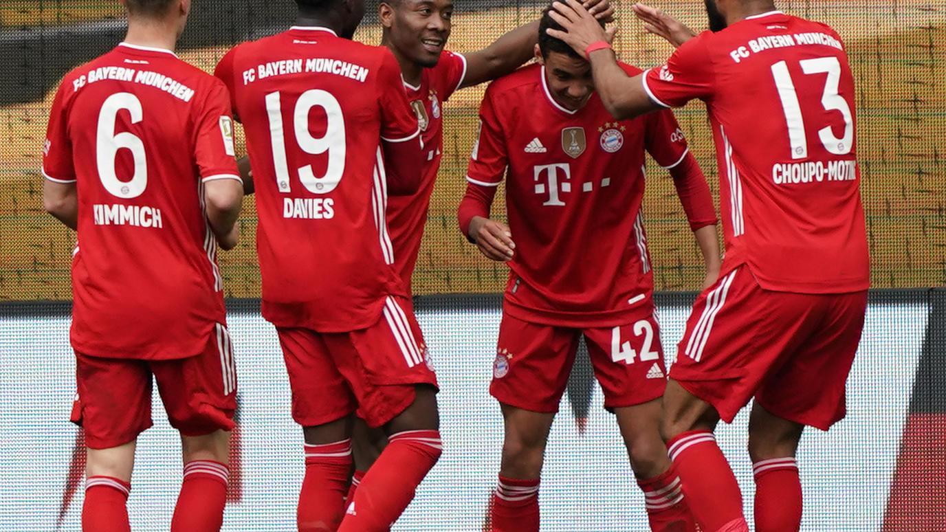 Münchner Matchwinner beim Sieg in Wolfsburg: Jamal Musiala