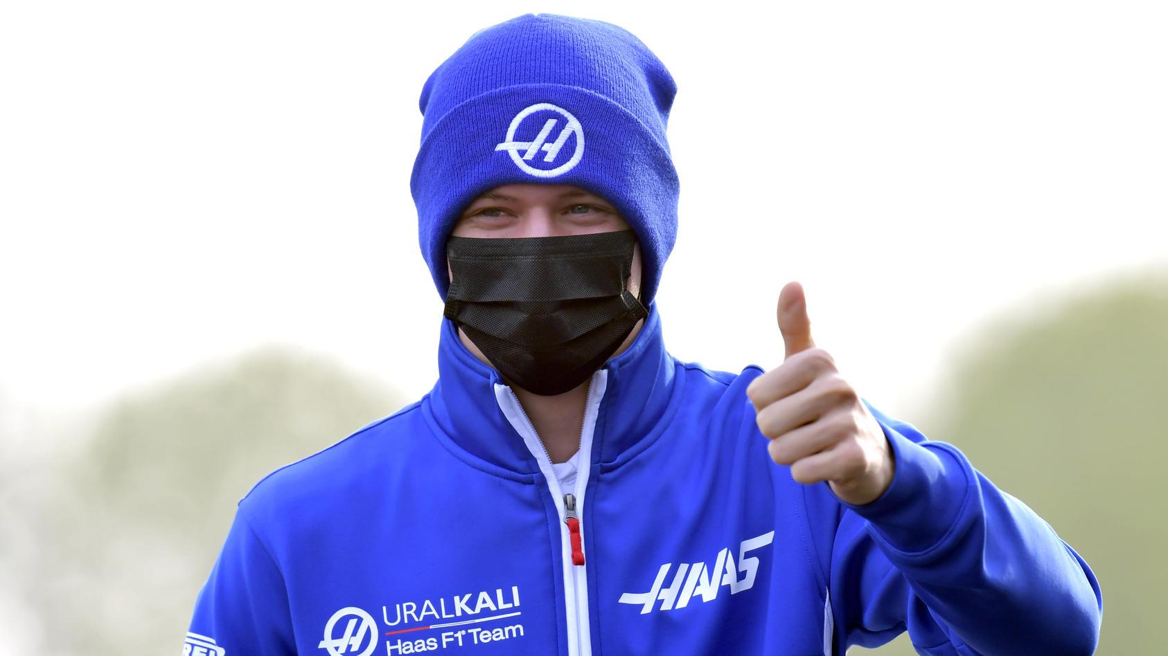 SCHUMACHER Mick Haas F1 Team FIA Formel 1 Saison 2021 in Imola am 17. 04. 2021 in Imola *** SCHUMACHER Mick Haas F1 Team