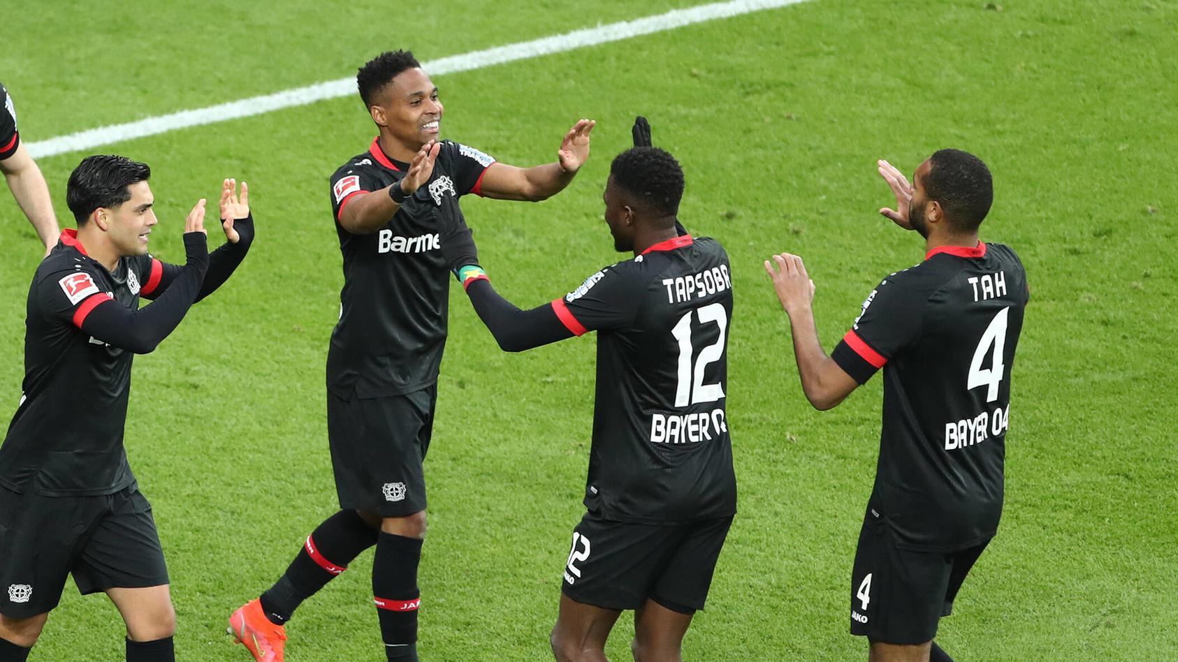 Leverkusen jubelt über den Sieg