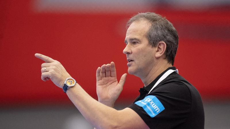 Das Team von Handball-Bundestrainer Henk Groener gewann in Portugal. Foto: Bo Amstrup/Ritzau Scanpix/AP/dpa