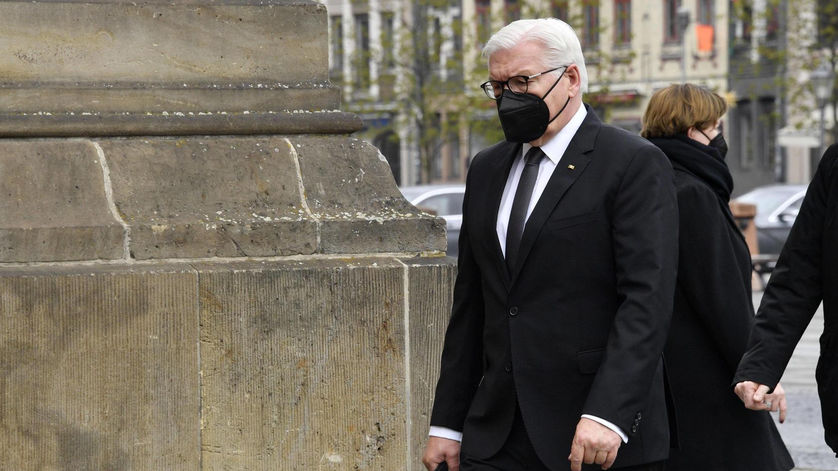 Frank-Walter Steinmeier bei der Zentralen Gedenkveranstaltung für die Verstorbenen in der Corona-Pandemie